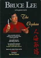 """BRUCE LEE """"THE ORPHAN"""" RARE OUT OF PRINT BOOK WITH CERTIFICATE"""