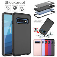 For Samsung Galaxy Note 10 Plus S10e S9 Shockproof Hybrid Rugged Hard Case Cover
