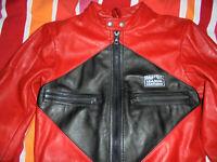 vintage GRATZER Motorradjacke Bikerjacke racing oldschool motorcycle jacket 48
