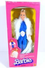 NIB BARBIE DOLL 1983 VINTAGE FABULOUS FUR RARE FOREIGN ITALY
