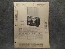 Sams Photofact Folder #6 From Set #51 Garod Model 4B-1 Battery Operated Radio