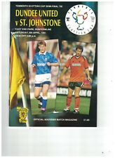 DUNDEE UNITED v ST JOHNSTONE 6th April 1991 Scottish FAC Semi Final @Dunfermline