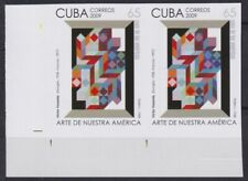2009.363 SPAIN ANTILLES MNH 2009 IMPERF PROOF PAIR 65c VICTOR VASARELY HUNGRIA