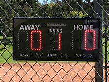 iSCOREBOARD Portable Electronic LED Scoreboard for Baseball / Softball