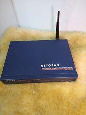 NetGear Router FVG318  Prosafe 802.11g Wireless NETGEAR VPN Firewall 8 Ports