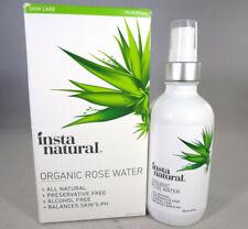 Insta Natural Organic Rose Water - 120ml / 4oz *Read* [Hb-I]
