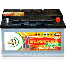 Adler Sunrise EFB 12 V / 90 Ah Verbraucher Boot Versorgungs Batterie