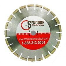 """The Supreme Concrete Blade 14""""x .125 x 1"""", 10mm rim"""
