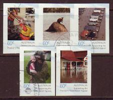AUSTRALIA 2011 PREMIER'S FLOOD RELIEF APPEAL FINE USED SET 5