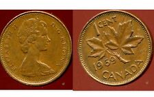 CANADA 1 cent  1969  ( bis )