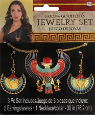 Egyptian Womens Adult Cleopatra Costume Jewelry Set