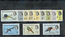 British Honduras Sc 167-78(Sg 207-13)*F-Vf Nh 1962 Bird Set $160
