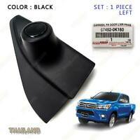 Tweeter Speaker Cover Genuine Black LH Fits Toyota Hilux Revo Pickup 2015 17 18