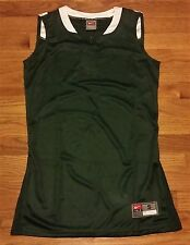 New Nike Women's S Spartacus Game Basketball Jersey Green / White Msrp $45