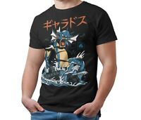 Pokemon T-Shirt Gyarados Kaiju Japanese Monster Unofficial Shirt Adult & Kids