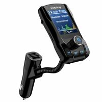 "Wireless Car Bluetooth FM Transmitter Radio Adapter USB Charger 1.8"" Screen"