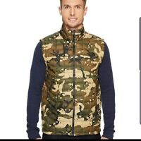 New Mens The North Face Camo Thermoball Down Puffer Jacket Vest