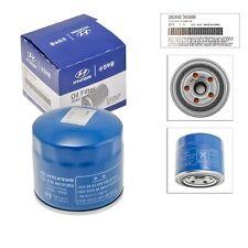 Genuine OEM For Hyundai/Kia Oil Filter 26300-35505 & Plug Gasket 21513-23001