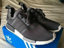 Adidas NMD R1 Primeknit Japan Grey Boost S81849 Size 11 PREOWNED