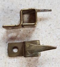 Vintage Stair Rod Brackets / Clips - Square type