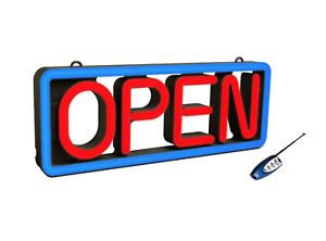 Pro-Lite NEON Style LED OPEN Sign for Retail, Businesses, and Stores