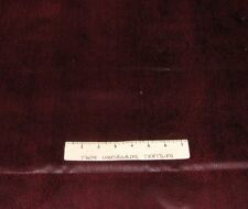 """Faux Artificial Leather Vinyl - Dark Red Crackle Texture - 54"""" Wide x YARD"""