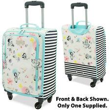 Disney Store Animators Suitcase Soft Rolling Luggage Wheeled Princess Collection