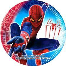 Spiderman assiettes en carton