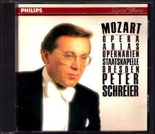 Peter SCHREIER: MOZART Opera Arias Die Entführung Cosi fan tutte Zauberflöte CD