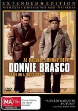 Donnie Brasco (1997) Al Pacino. Johnny Depp - NEW DVD - Region 4
