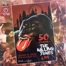 ROLLING STONES BOX 4LP+2CD+1DVD -VINYL- London 29/11/2012