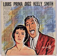 Louis Prima Digs Keely Smith Coronet CX-121 Vinyl LP | 1961 Fast Shipping