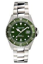 Gigandet SEA GROUND Automatik Herrenuhr Taucher Edelstahl Grün G2-008 NEU