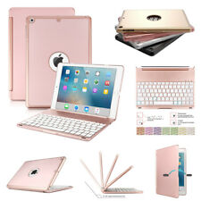 7 Color Backlit Bluetooth Keyboard Case Cover For iPad 9.7 2017 Air 2/1 Pro AU
