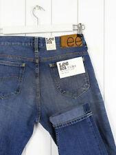 Stonewashed High Rise Skinny, Slim 32L Jeans for Men