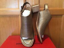 NEW Donald J Pliner Mazie Slingback Sandal Shoe Light Bronze Size 8 Retail $228
