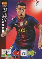 U12 THIAGO ALCANTARA FC BARCELONA  CARD CHAMPIONS LEAGUE ADRENALYN 2013 PANINI