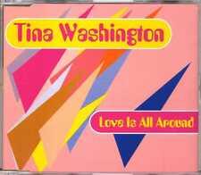 Tina Washington - Love Is All Around - CDM - 1996 - Reggae Pop Wet Wet Wet cover