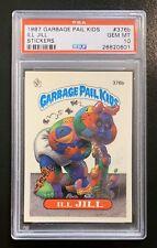 1987 Garbage Pail Kids OS9 ILL JILL 376b PSA 10 GEM MINT-RARE POP 5!! TWT