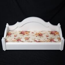 "White Mini Furniture Sofa Bed For 1/6 11"" Tall BJD YOSD DD DK MK LUTS Dollfie"