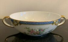 Noritake Vintage and Discontinued Casino 5 Flat Cream Soup Bowl