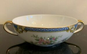Noritake Vintage and Discontinued Casino Flat Cream Soup Bowl
