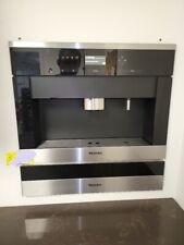 "Miele CVA 6401,  24"" Built-in Whole Coffee Bean Machine, Stainless Steel Bundle"