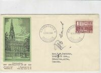 denmark 1949  stamps cover ref 19622