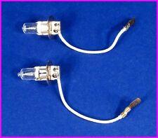 * 2 Brinkmann Halogen / LED Spotlight 1,000,000 Candlepower 6V Bulbs H3-6V35W *
