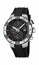 Festina F16667-6 Mens Black Rubber Strap 2013 Tour of Britain Chrono Watch