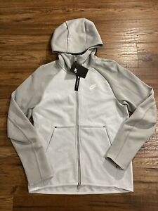 NIKE Sportswear Tech Fleece Full-Zip Jacket Hoodie 928483-043 Grey Size XL