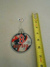2011 Forever Collectibles Boston Red Sox Metal Christmas Tree Ornament Round