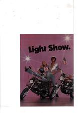 1975 HARLEY DAVIDSON X-90 Z-90 SX-125 MOTORCYCLES FAMILY FREEDOM AD PRINT H695