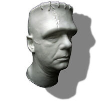Lon Chaney Jr. Frankenstein Life Mask